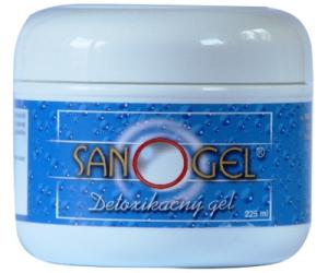 Sanogel na detoxikaci organismu