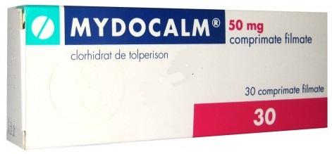 lék na uvolnění svalů