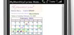 Menstruační kalendář